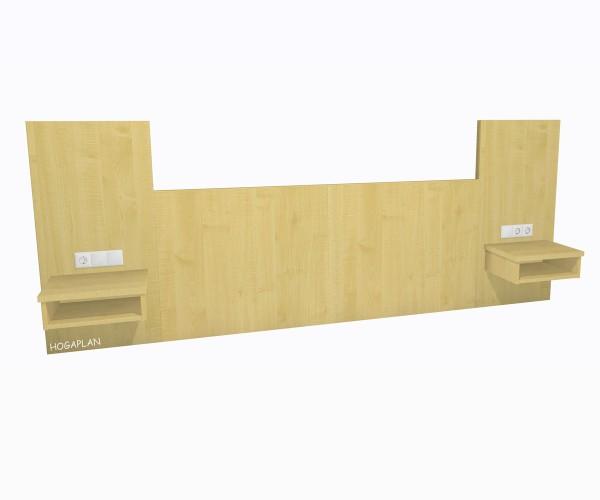 D-Kopfpaneel Nachttischpaneelen höher