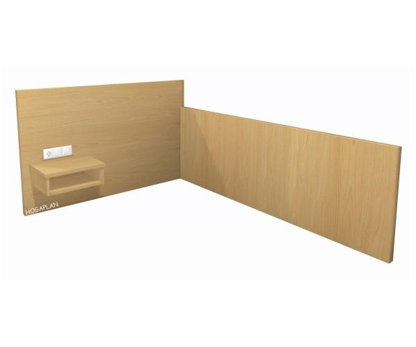 Einzelbettpaneel