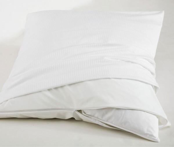 Care Plus Antiallergener Kissenhygienebezug mit Reißverschluss