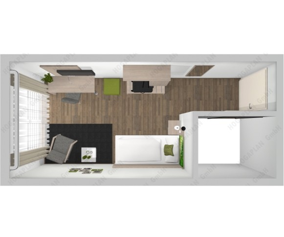 komplettes Einzelzimmer Berlin Design 4- ohne Montage