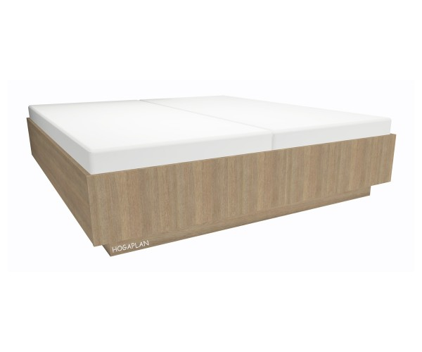 Holz- Doppelbett 180x200