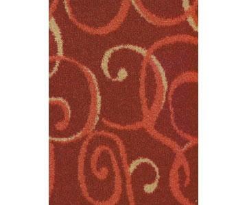 Teppichboden Sydney Farbe rot 471