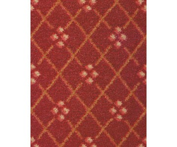 Teppichboden London Farbe rot 471