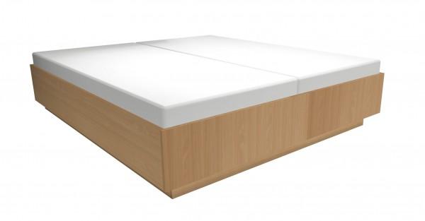 Holz- Doppelbett 180x200 cm