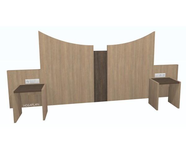 Doppelbettpaneel Betten variabel