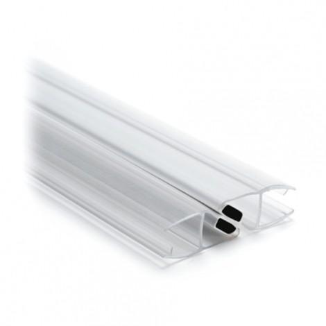 Magnetdichtung 180° (Paar),  für Glasstärke 8-10 mm