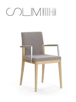 Armlehnstuhl Modell slim wood +am