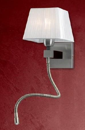 Wandleuchte CL1 mit LED-Leselicht