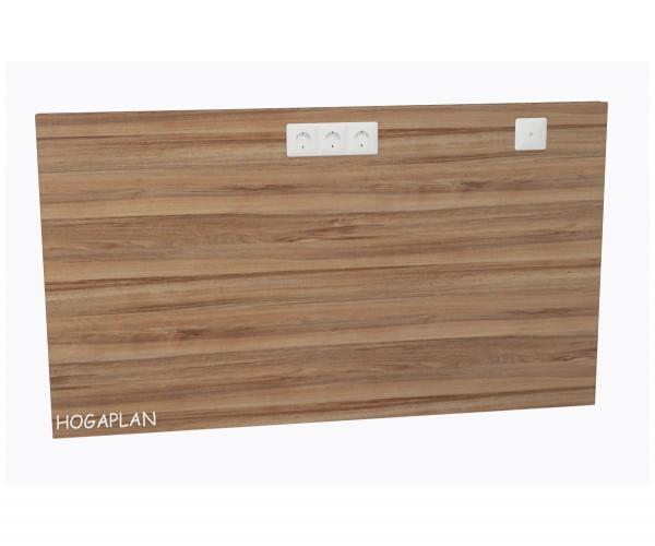 Wandschutzpaneele für Schreibtisch