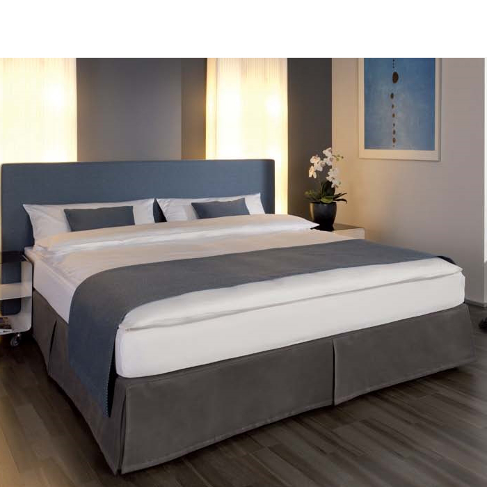 volanthaube f r boxspringbett ohne klettverschluss. Black Bedroom Furniture Sets. Home Design Ideas