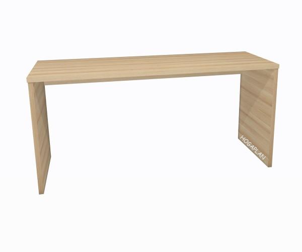 Schreibtisch mit 2 Seiten