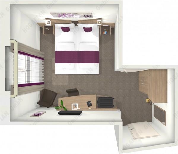 komplettes Doppelzimmer Bern - ohne Montage