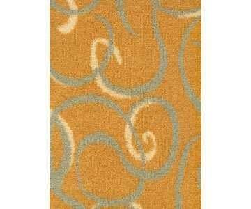 Teppichboden Sydney Farbe gelb 321