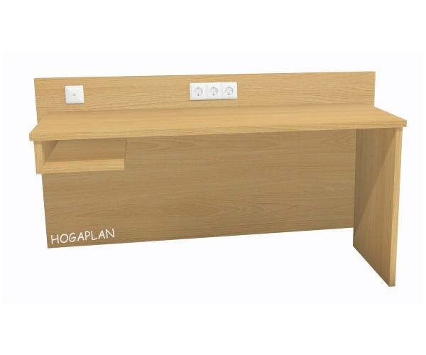 Schreibtisch mit offenem Fach