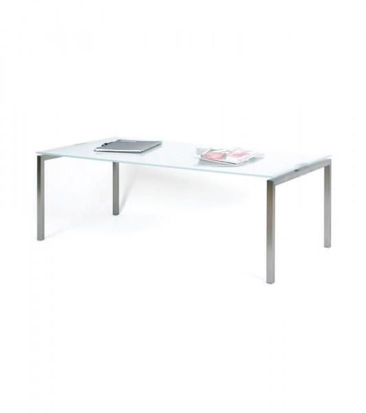 Beistelltisch / Glastisch 120 x 60 cm