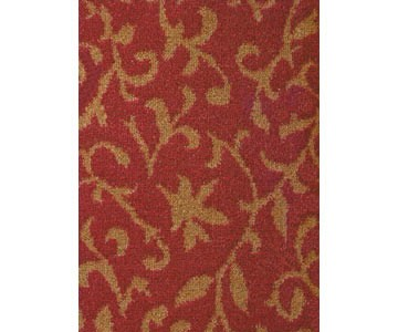 Teppichboden Madrid Farbe rot 471