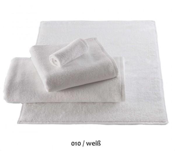 Handtuch Zwirnfrottier Luxor weiß