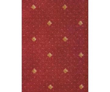 Teppichboden Kairo Farbe rot 471