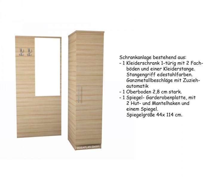 Komplettes einzelzimmer modern 2farbig ohne montage for Schrank 30x30